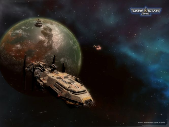 DARKSTAR ONE space action fighting futuristic spaceship 1done ship poster wallpaper