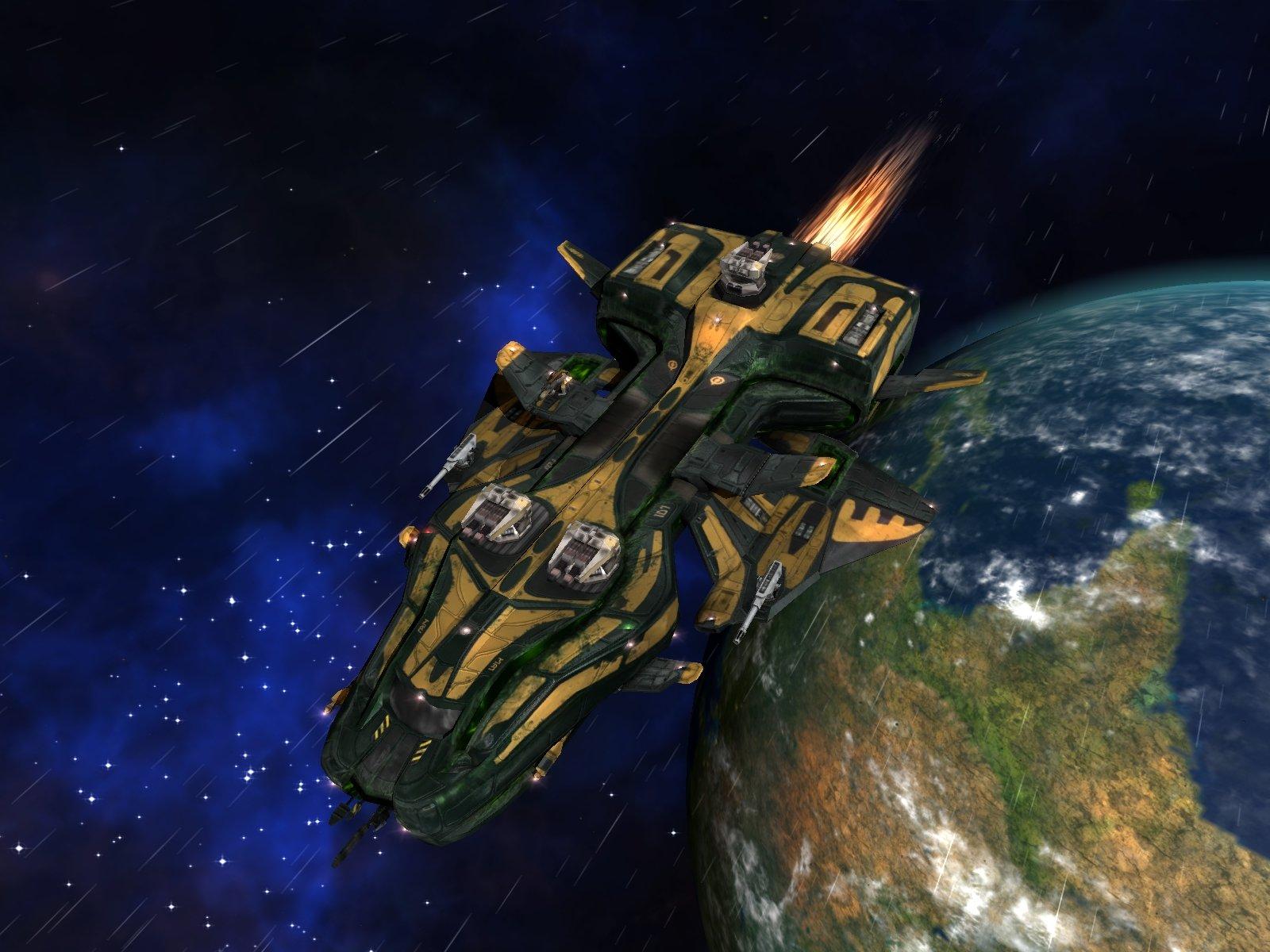 broken space ship - photo #37