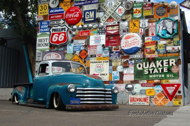 pickup lowrider rat hot rod rods custom wallpaper