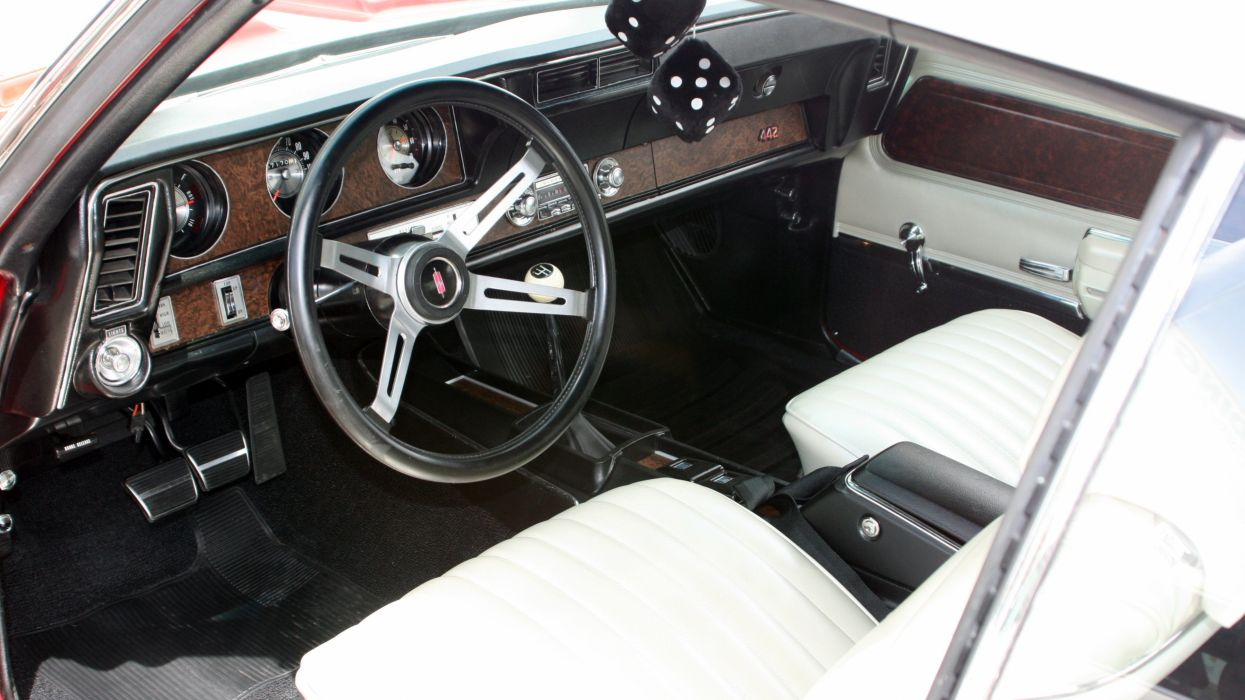 1970 Oldsmobile 442 W-30 Convertible Muscle Classic Old Original USA -04 wallpaper