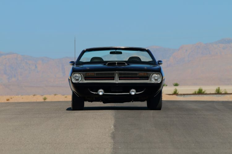 1970 Plymouth 426 Hemi Cuda Convertible Muscle Classic Old USA -08 wallpaper