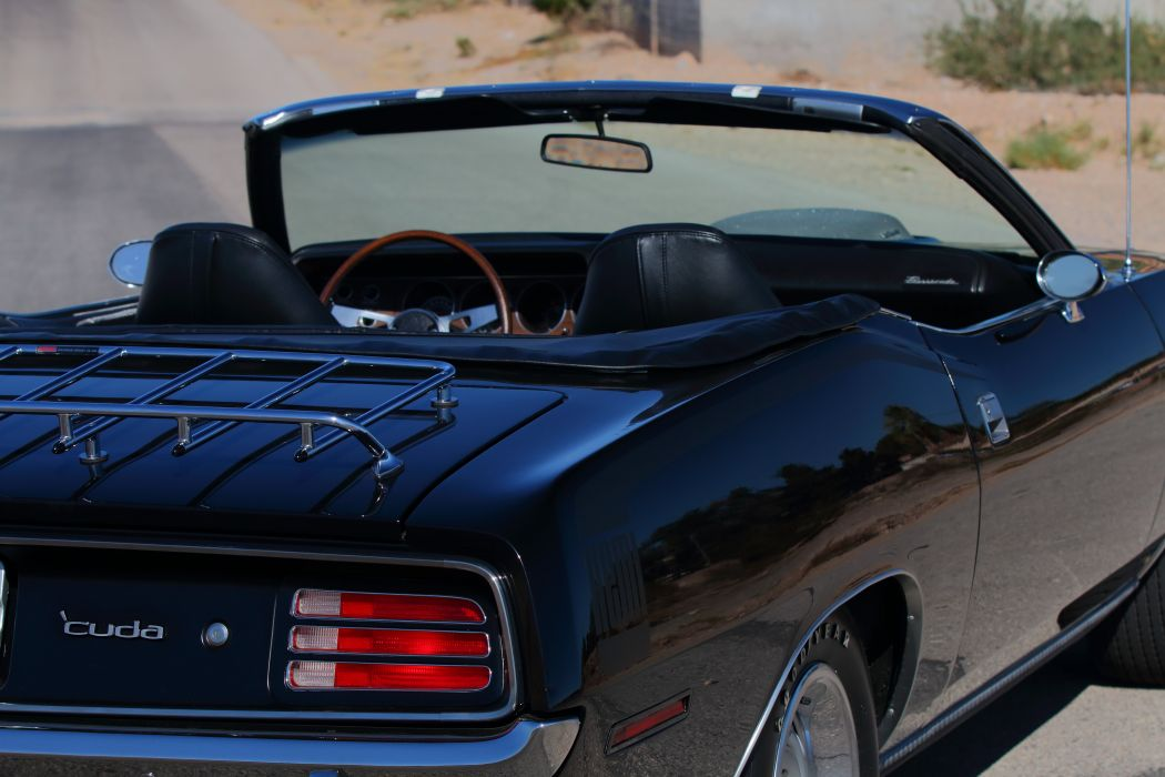 1970 Plymouth 426 Hemi Cuda Convertible Muscle Classic Old USA -33 wallpaper