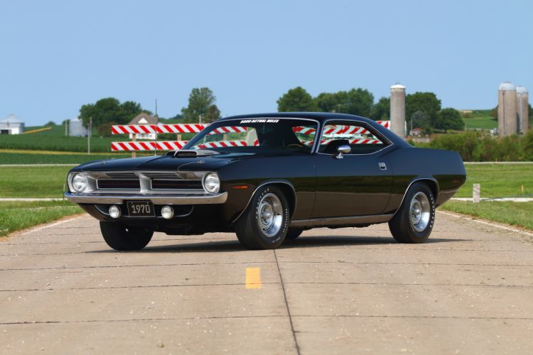 1970 Plymouth Cuda Muscle Classic Old Original USA -01 wallpaper