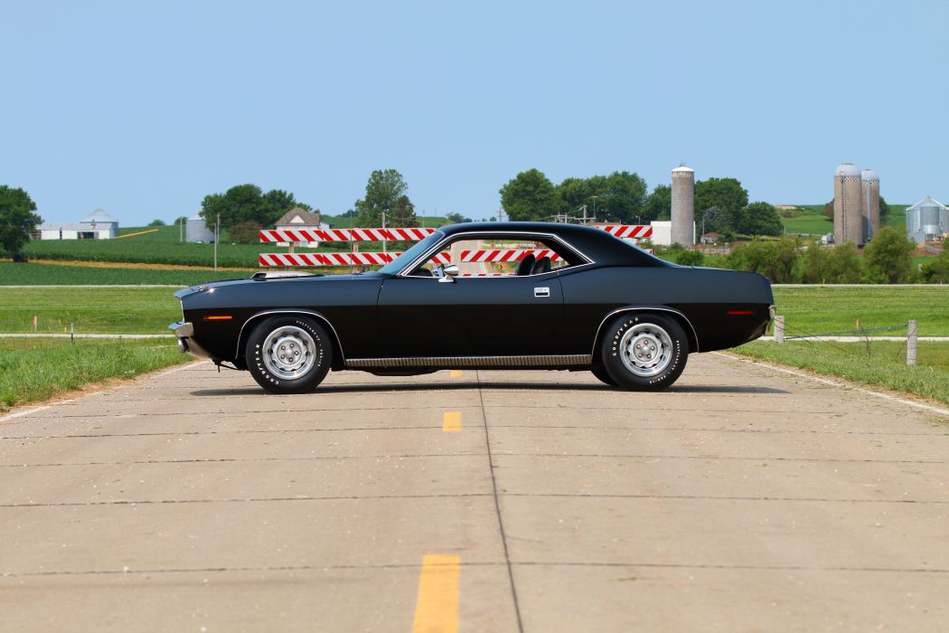 1970 Plymouth Cuda Muscle Classic Old Original USA -02 wallpaper