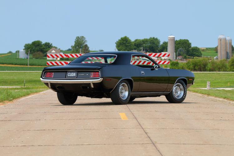 1970 Plymouth Cuda Muscle Classic Old Original USA -03 wallpaper