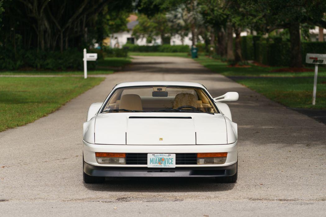 1986 Ferrari Testarossa Supercar Classic White Italy -02 wallpaper