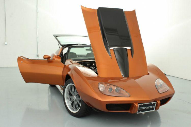chevrolet corvette hot rod rods custom wallpaper