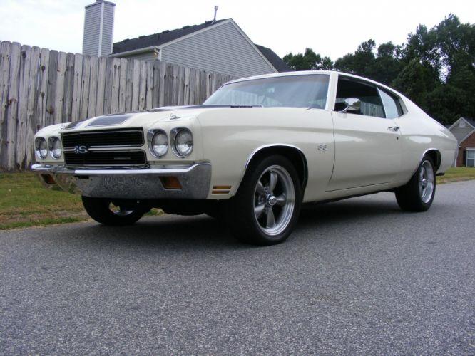 1970 Chevrolet Chevelle muscle hot rod rods custom wallpaper