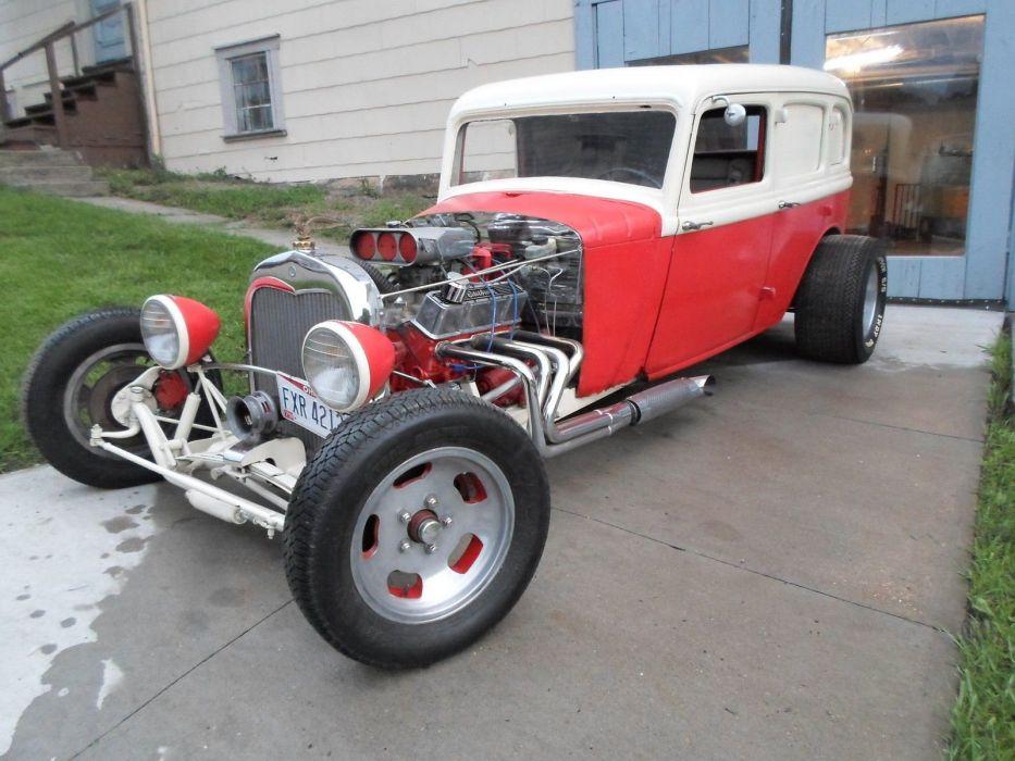 1934 Dodge hot rod rods custom wallpaper