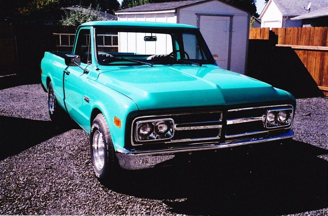 1968 GMC 1500 pickup hot rod rods custom h wallpaper