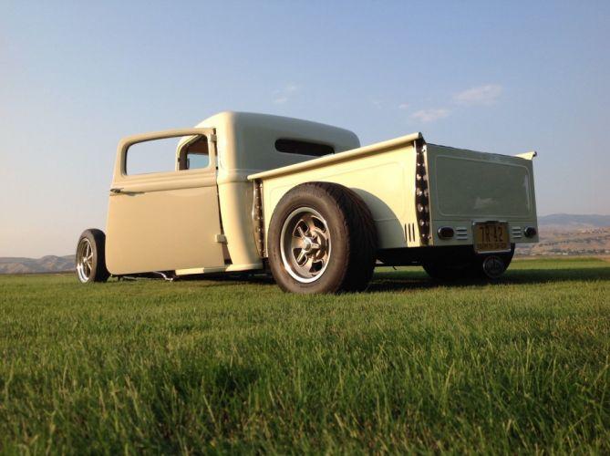 1934 Dodge pickup hot rod rods custom wallpaper