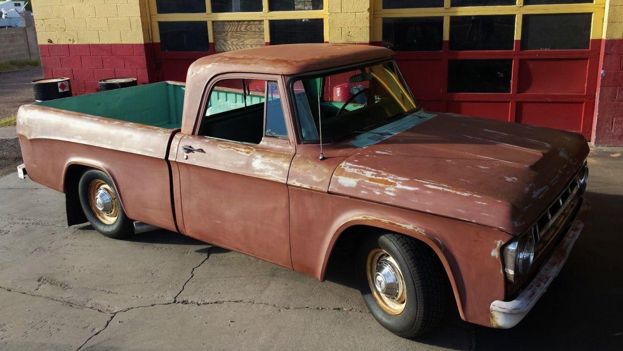 1969 Dodge pickup hot rod rods custom h wallpaper