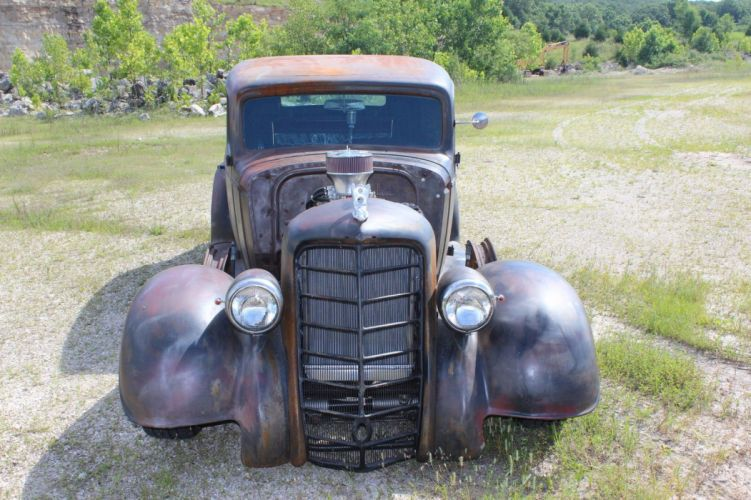 1934 Oldsmobile Rat Rod Coupe hot rod rods custom h wallpaper