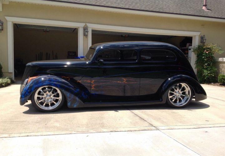 1937 Ford Sedan hot rod rods custom h wallpaper
