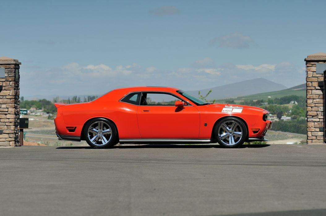 2009 Dodge Challenger Saleen SMS 570X Muscle Supercar USA -02 wallpaper