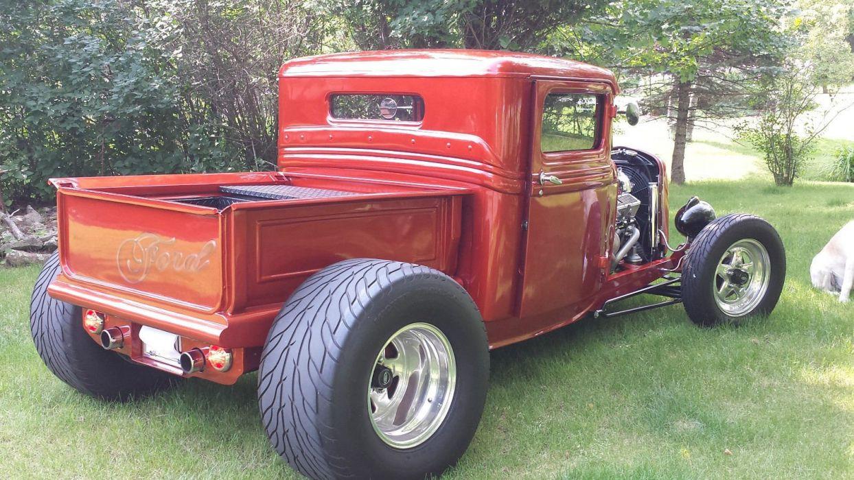 1932 Ford pickup hot rod rods custom h wallpaper