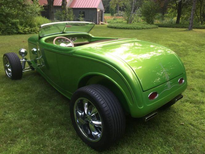 1932 FORD ROADSTER hot rod rods custom h wallpaper