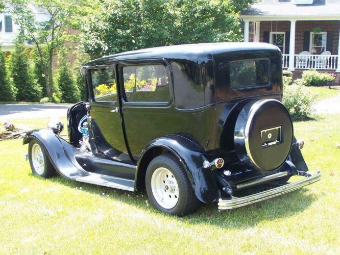 1929 Ford Model-A hot rod rods custom h wallpaper