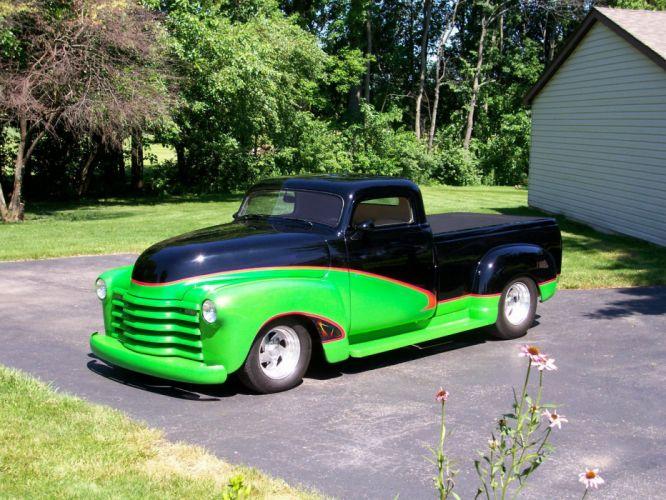 1948 Chevrolet Pickup hot rod rods custom h wallpaper