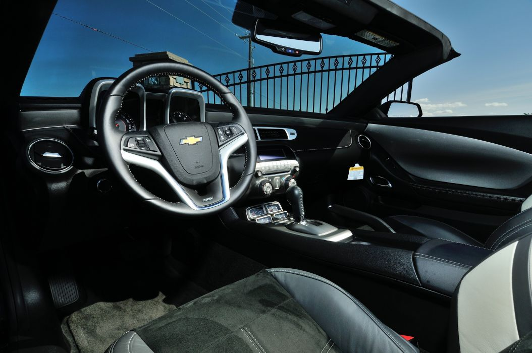 2012 Chevrolet Camaro Saleen Convertible Muscle Supercar SMS 6 5L USA -04 wallpaper