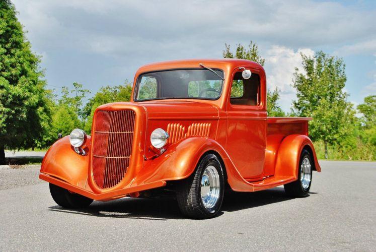 1935 Ford Street Rod Pickup hot rod rods custom h wallpaper