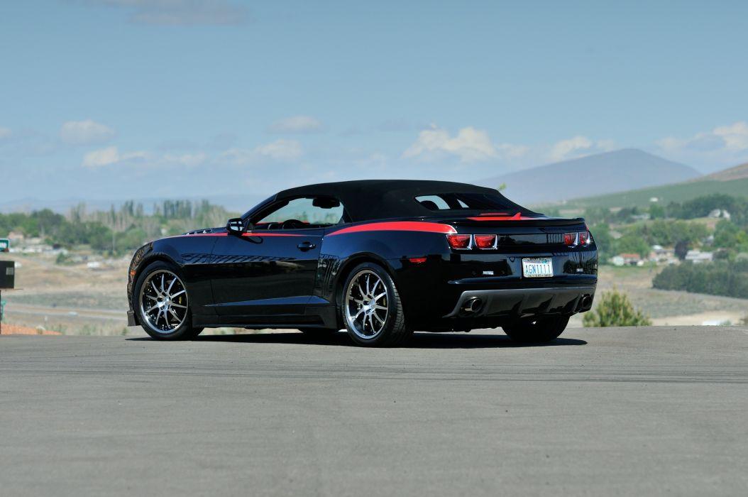 2012 Chevrolet Camaro Saleen Convertible Muscle Supercar SMS 6 5L USA -11 wallpaper