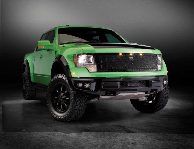 2012 Ford SVT Raptor Pickup Off Road USA -01 wallpaper