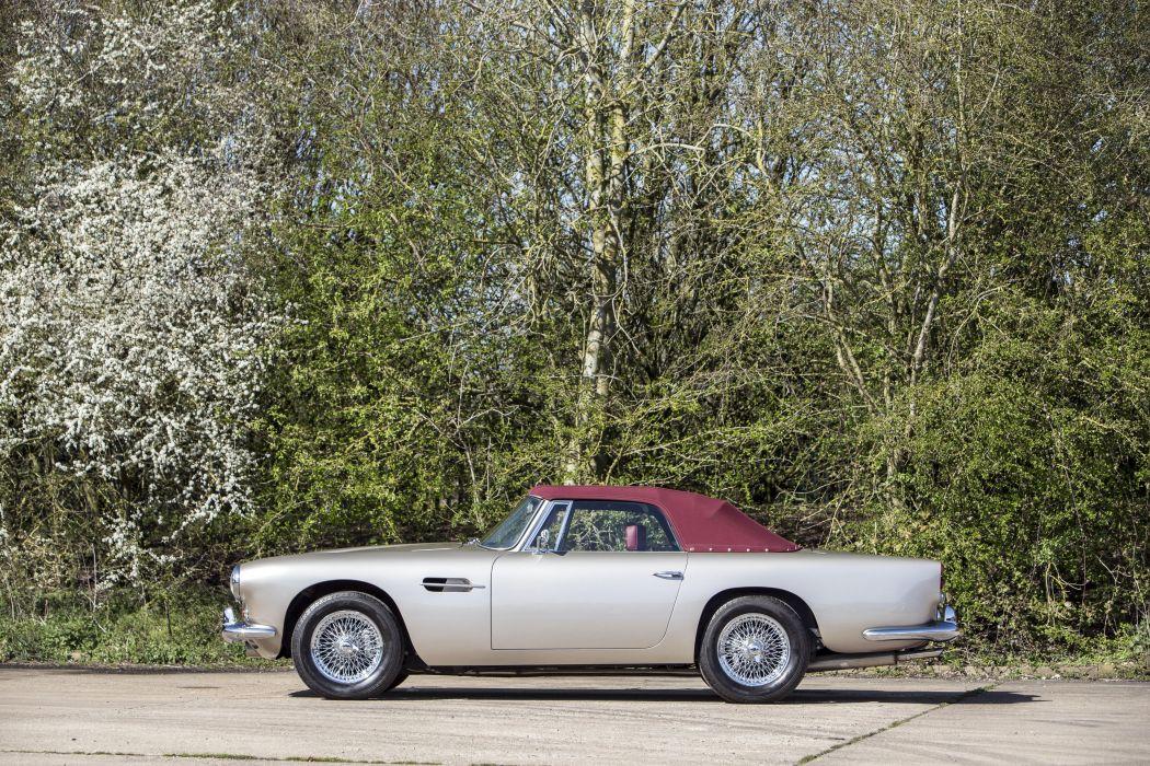 Aston Martin DB4 Convertible 1962 Classic Old Original England--05 wallpaper