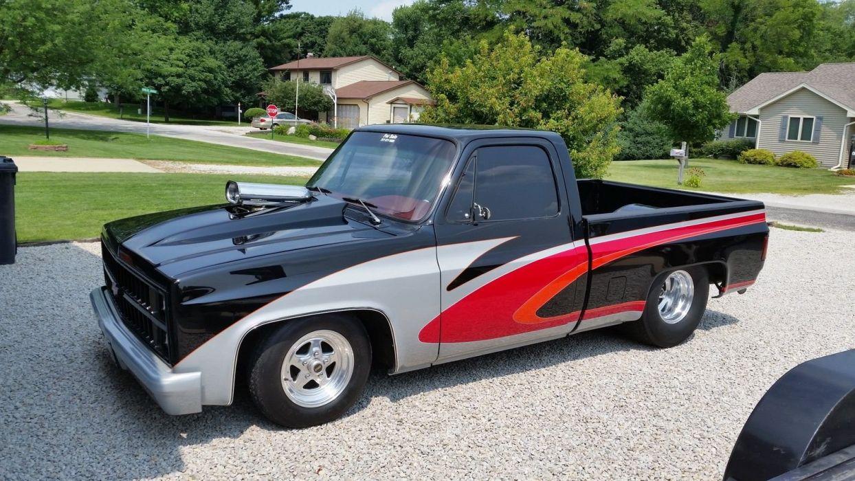 Chevrolet C-10 pickup hot rod rods custom h wallpaper