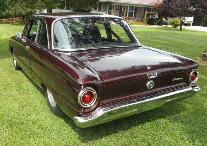 1960 Ford Falcon hot rod rods custom h wallpaper