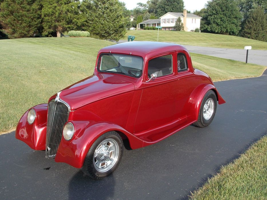 1933 WILLYS COUPE hot rod rods custom h wallpaper