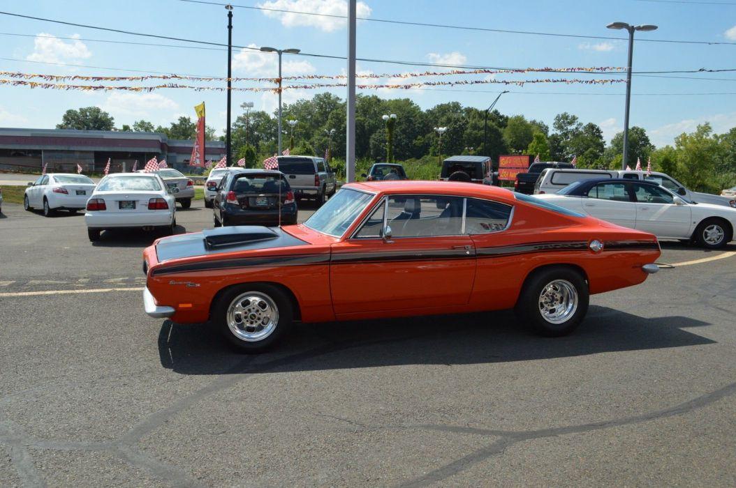 1969 Plymouth Barracuda cuda muscle hot rod rods custom h wallpaper