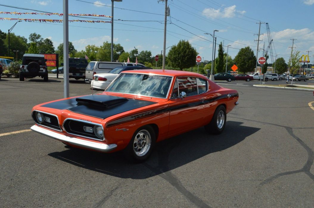 1969 Plymouth Barracuda cuda muscle hot rod rods custom h wallpaper