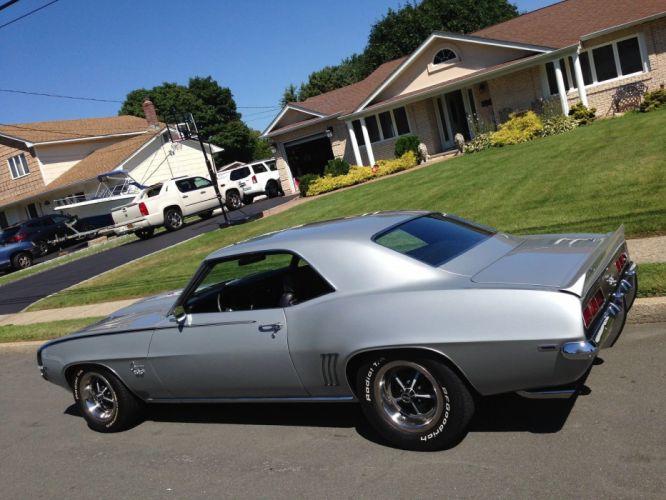 1969 Chevrolet Camaro hot rod rods custom muscle h wallpaper