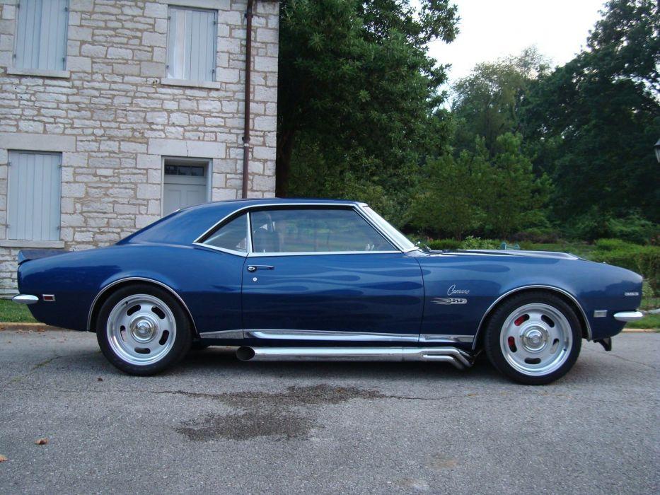 1968 Chevrolet Camaro ss hot rod rods custom h wallpaper