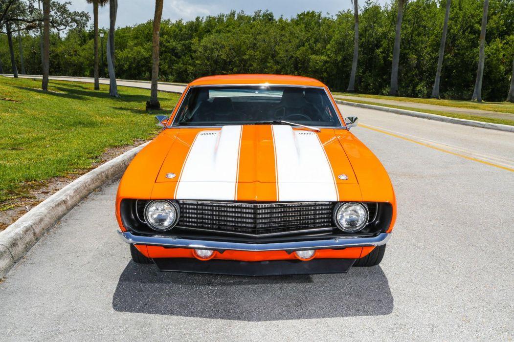 1969 Chevrolet Camaro hot rod rods custom h wallpaper