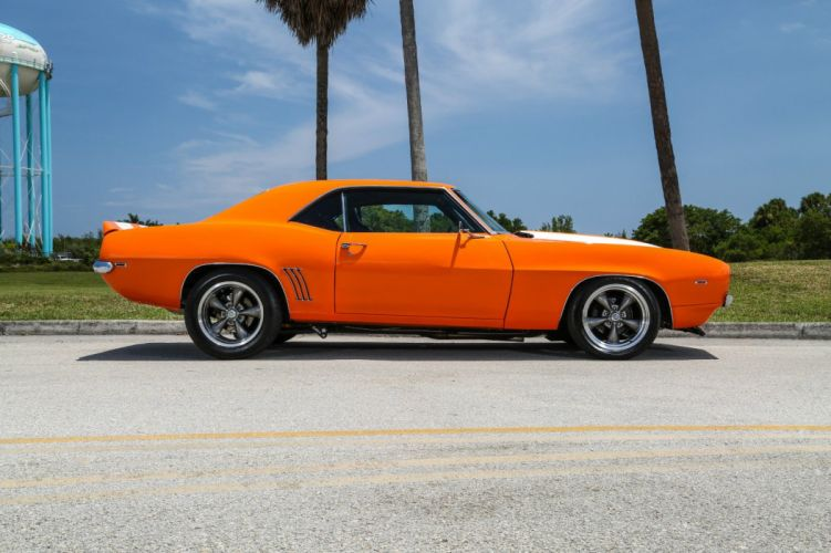 1969 Chevrolet Camaro hot rod rods custom h wallpaper