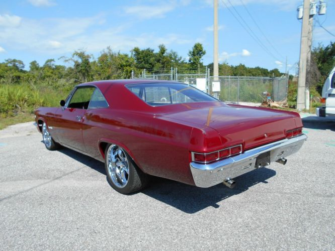1966 Chevrolet Impala SS hot rod rods custom h wallpaper