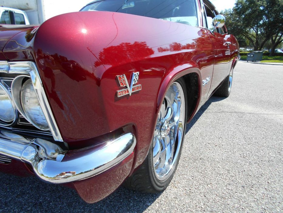 1966 Chevrolet Impala SS hot rod rods custom h wallpaper