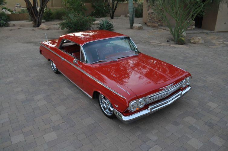 1962 Chevrolet Impala hot rod rods custom h wallpaper