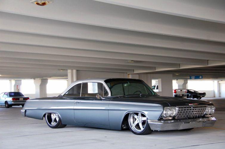 1962 Chevrolet Bel Air lowrider hot rod rods custom h wallpaper