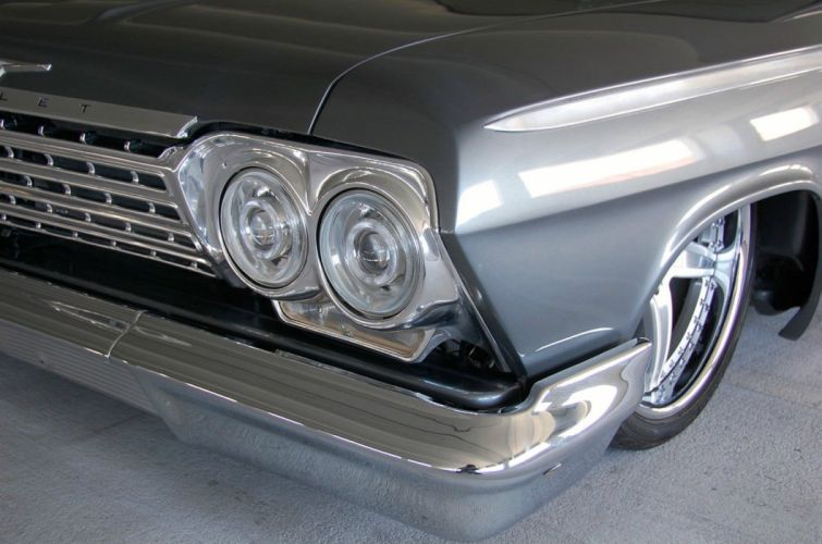 1962 Chevrolet Bel Air lowrider hot rod rods custom h wallpaper