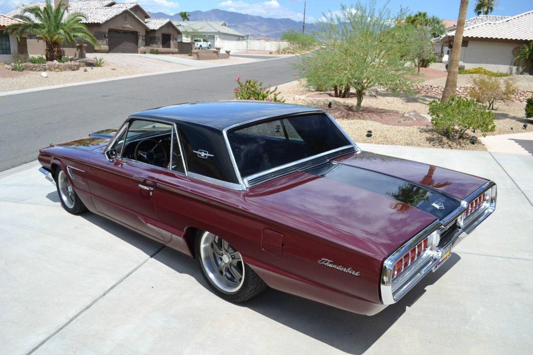 1965 Ford Thunderbird hot rod rods custom h wallpaper