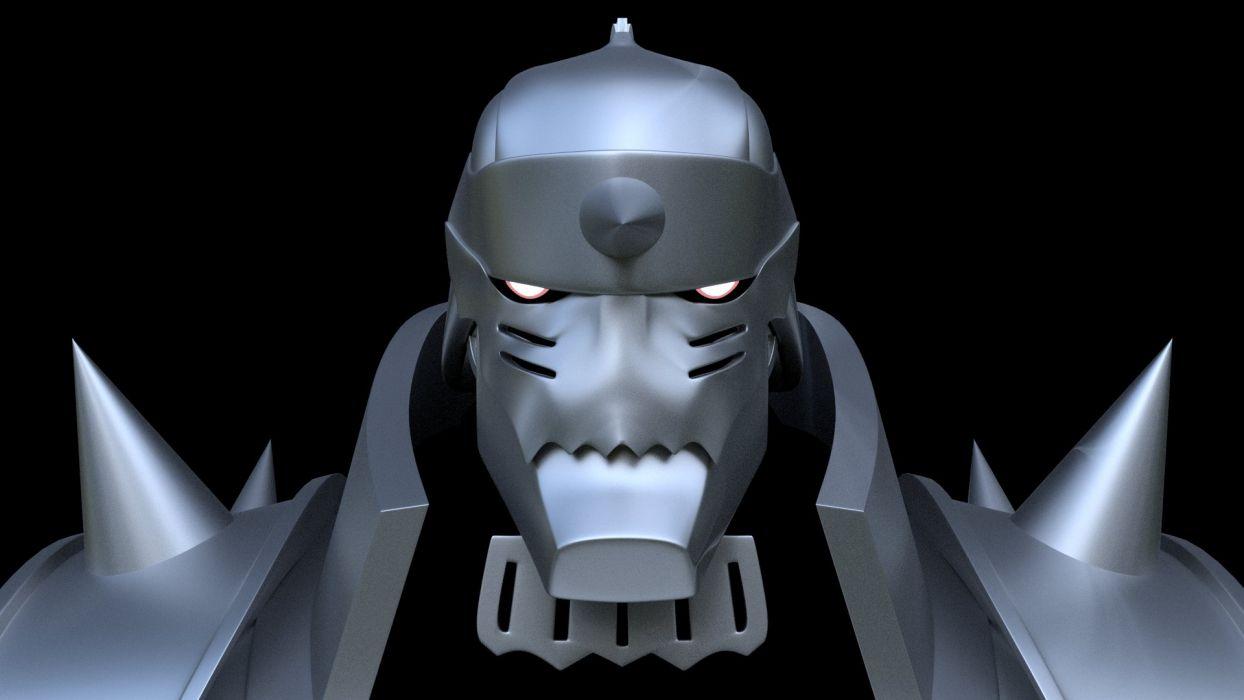 Fma Fullmetal Alchemist Brotherhood Al Alphonse Robot Armor 3d