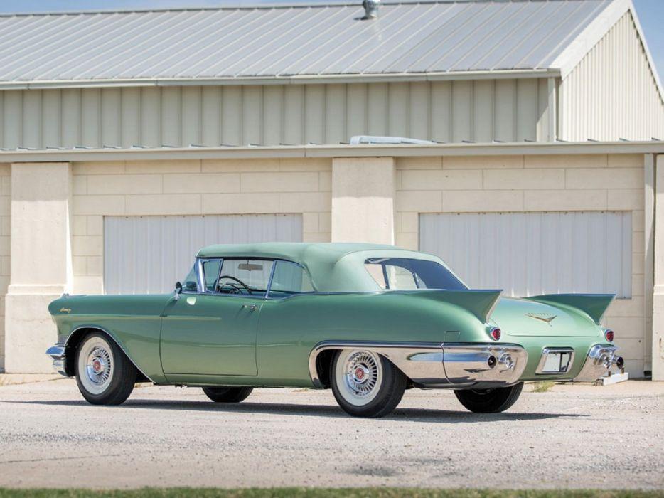 1957 Cadillac Eldorado Biarritz cars classic wallpaper