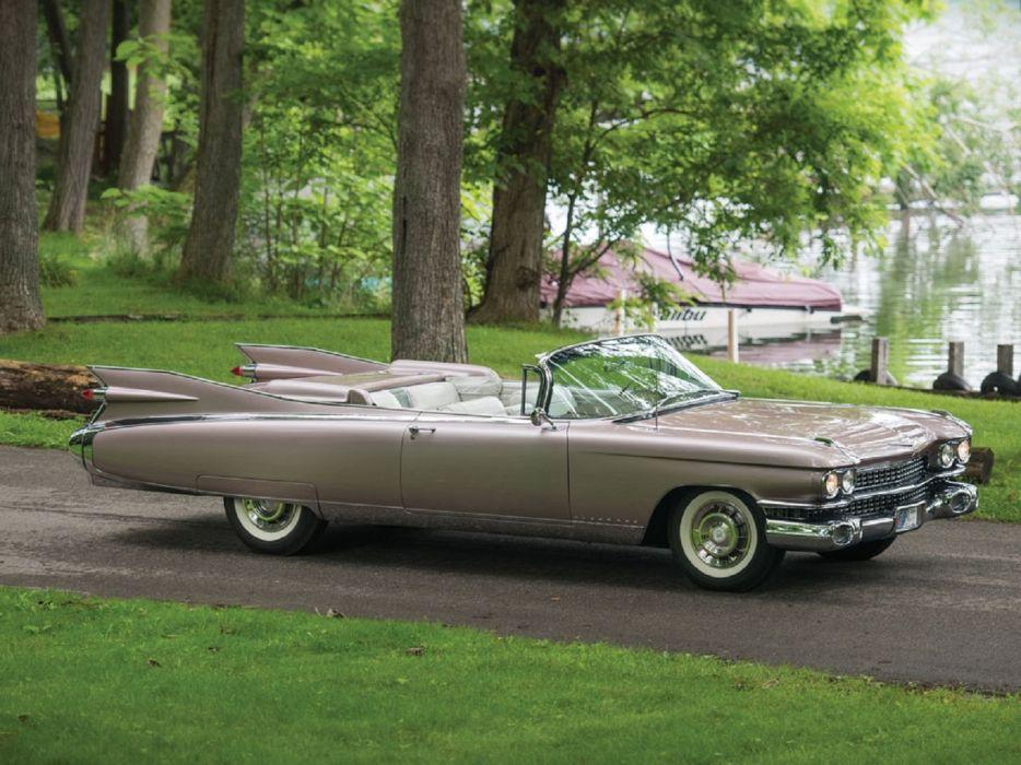 1959 Cadillac Eldorado Biarritz cars classic wallpaper