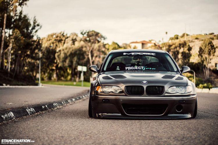 BMW E46 3-series tuning custom wallpaper