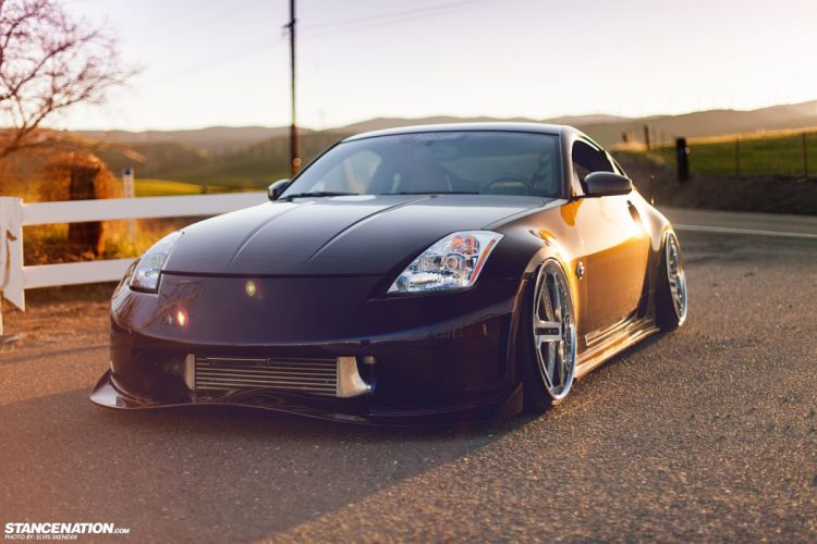 NISSAN 350Z tuning custom wallpaper