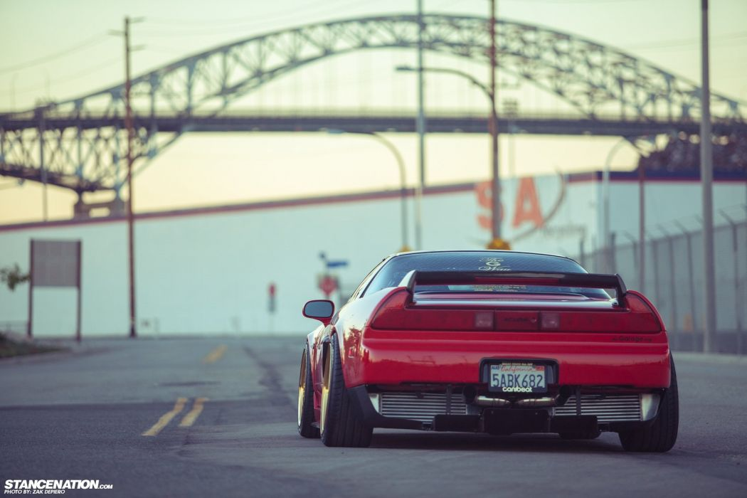 ACURA NSX supercar tuning custom wallpaper