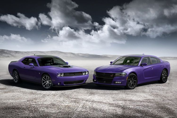 2016 Dodge Challenger Charger Plum Crazy Limited Edition Supercar Muscle USA -01 wallpaper